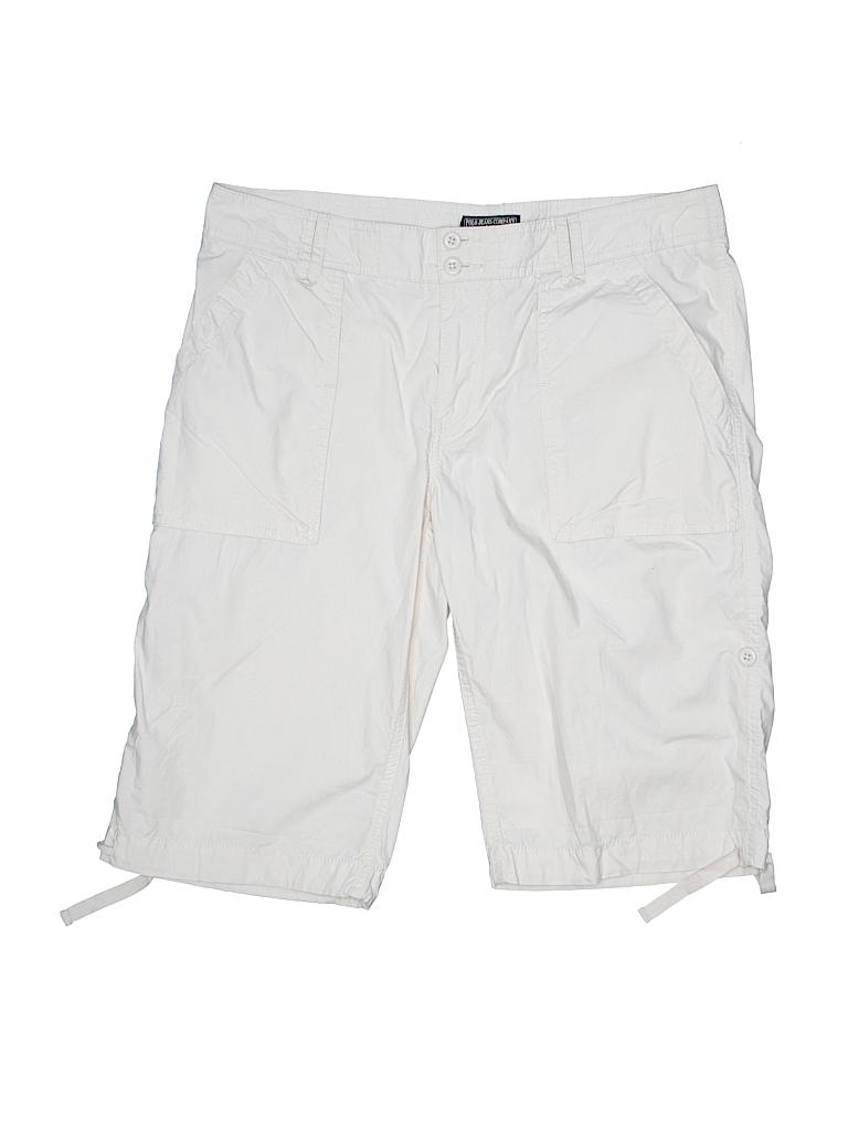 cdf9797712 Polo Jeans Co. by Ralph Lauren 100% Cotton Solid Beige Khaki Shorts ...