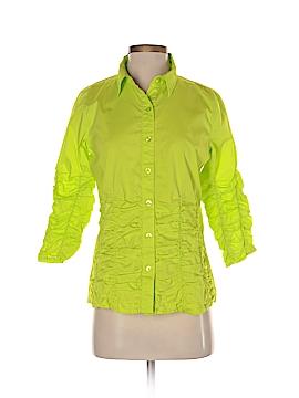 Metro Style 3/4 Sleeve Button-Down Shirt Size 4