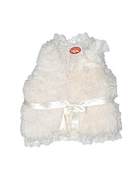 Maeli Rose Faux Fur Vest Size 4T