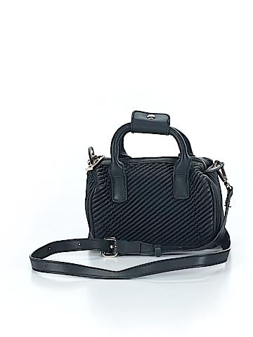 Zara Basic Leather Crossbody Bag One Size