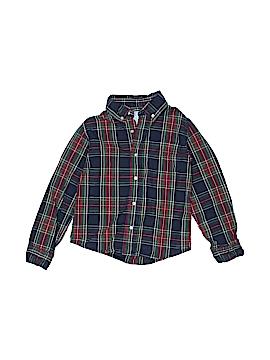 JK Kids Long Sleeve Button-Down Shirt Size 7