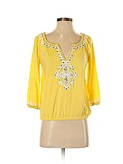 INC International Concepts Women 3/4 Sleeve Top Size XS