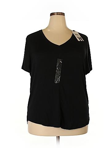 Como Vintage Short Sleeve Top Size 2X (Plus)