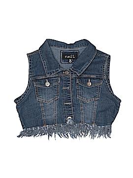 Rue21 Denim Vest Size M (Youth)