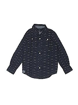 Gap Kids Outlet Long Sleeve Button-Down Shirt Size 7