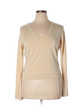 Max Studio Silk Pullover Sweater Size XL