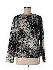 Argenti Women Long Sleeve Blouse Size 8