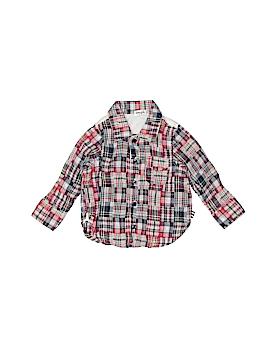 Splendid Long Sleeve Button-Down Shirt Size 6-12 mo