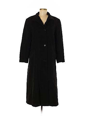 Halston Wool Coat Size 8