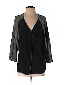 Alexander Wang Long Sleeve Silk Top Size 4