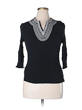 Cathy Daniels 3/4 Sleeve Blouse Size XL