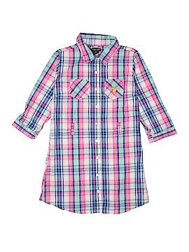 U.S. Polo Assn. 3/4 Sleeve Button-Down Shirt Size 10