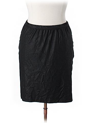 Karen Kane Faux Leather Skirt Size 0X (Plus)