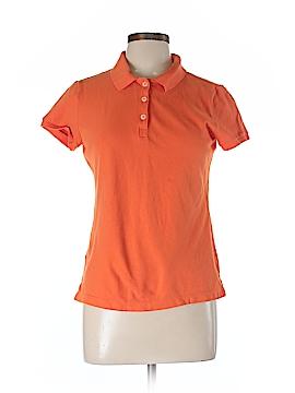 Kate Hill Short Sleeve Polo Size L (Petite)