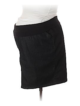 Duo Maternity Denim Skirt Size XL (Maternity)