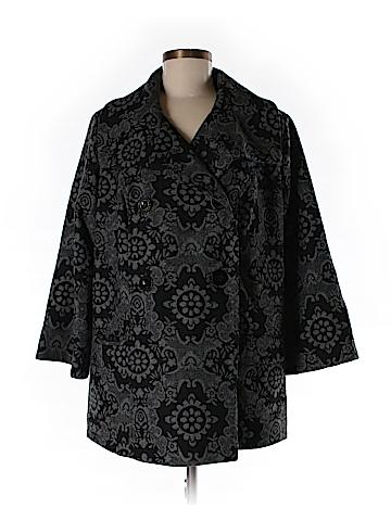 CALVIN KLEIN JEANS Coat Size 0X (Plus)