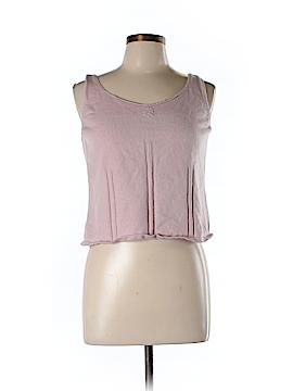 Sigrid Olsen Sport Sleeveless Silk Top Size L