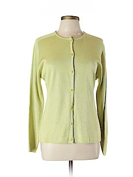 Barry Bricken Silk Cardigan Size L