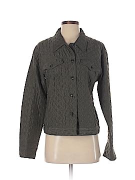 Debra deRoo Long Sleeve Silk Top Size S