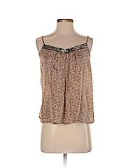 Love 21 Women Sleeveless Silk Top Size S