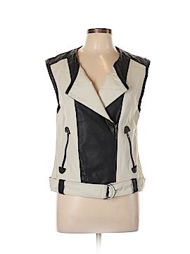 Forenza Faux Leather Jacket Size M
