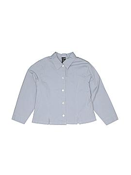 Lands' End Long Sleeve Button-Down Shirt Size 6