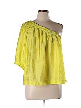 Maeve Short Sleeve Blouse Size L (Petite)