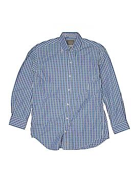 Thomas Dean Long Sleeve Button-Down Shirt Size 10 - 12