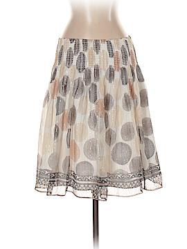 White House Black Market Silk Skirt Size S