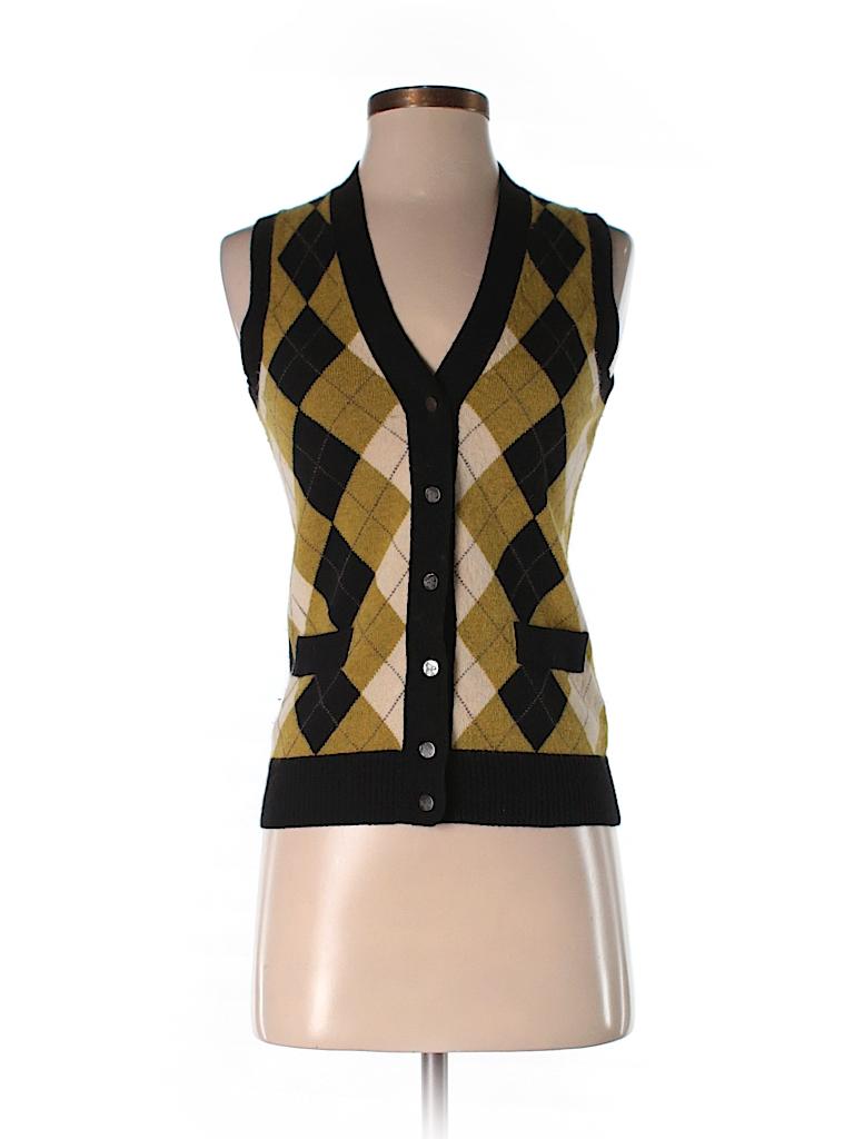 J. Crew Argyle Black Sweater Vest Size XS - 80% off  b9b20d88b3