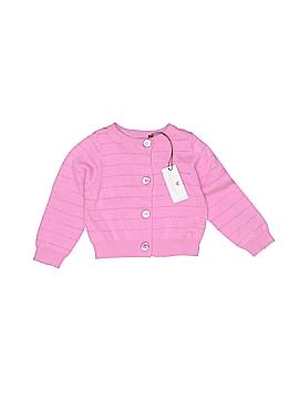 Pink Chicken Cardigan Size 6-12 mo