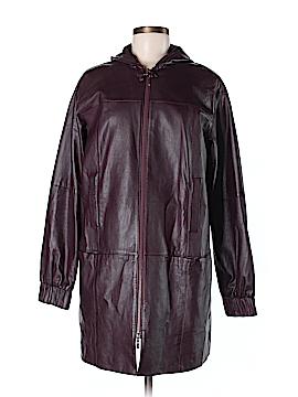 Worth New York Leather Jacket Size M