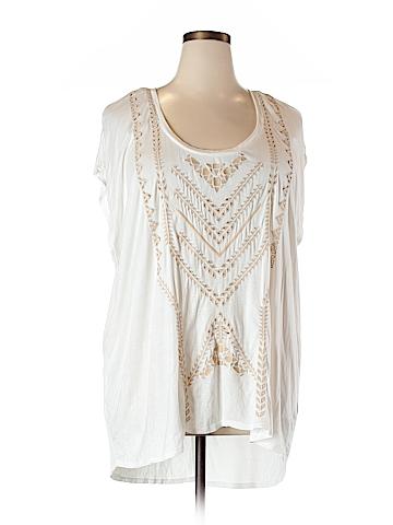 Jessica Simpson Short Sleeve Top Size 3X (Plus)