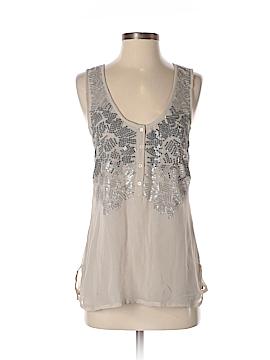 Saivana Sleeveless Silk Top Size M