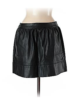 Harmony + Havoc Faux Leather Skirt Size M