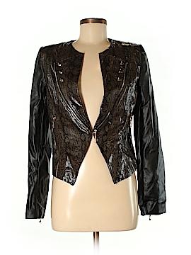 Gracia Faux Leather Jacket Size M