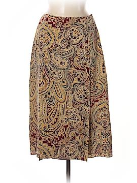 Jones New York Silk Skirt Size 8 (Petite)