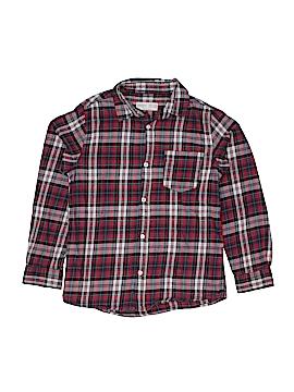 Zara Long Sleeve Button-Down Shirt Size 7 - 8