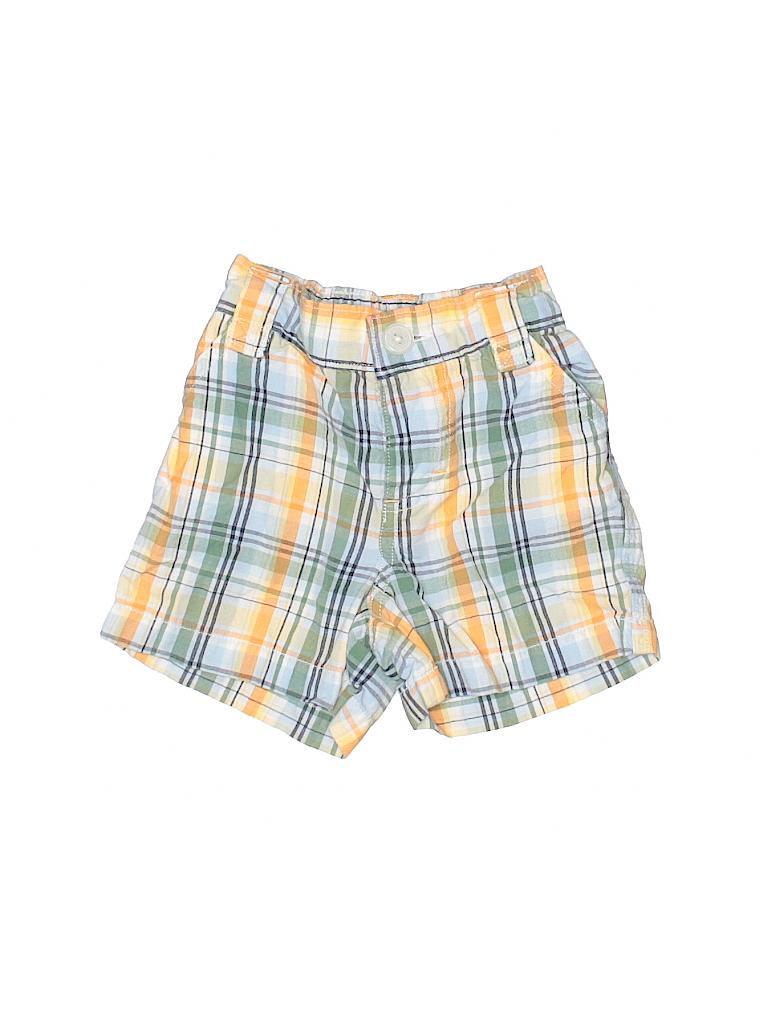 c7ac36e41 Baby Gap 100% Cotton Plaid Orange Shorts Size 0-3 mo - 95% off | thredUP