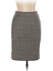 Les Copains Women Wool Skirt Size 42 (EU)