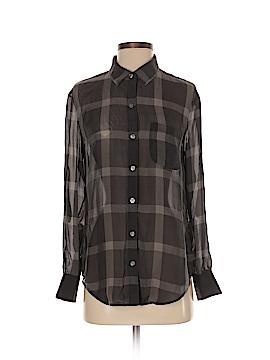 Eliot Long Sleeve Silk Top Size S