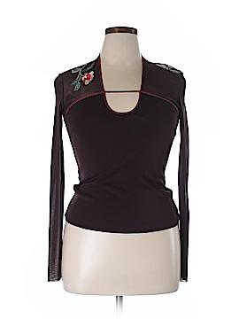 Vivienne Tam Long Sleeve Top Size Lg (3)