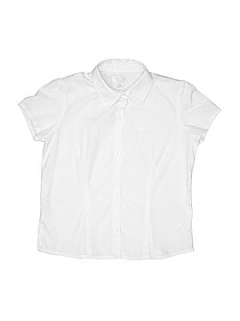 The Children's Place Short Sleeve Button-Down Shirt Size 10-12