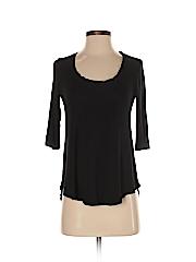 Bordeaux Women 3/4 Sleeve T-Shirt Size XXS (Petite)