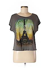 Doe Women Short Sleeve T-Shirt Size L