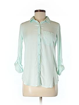 SO Long Sleeve Button-Down Shirt Size XS