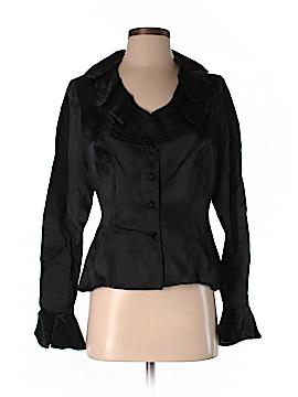 Chetta B Long Sleeve Silk Top Size 4