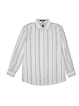 Ike Behar Long Sleeve Button-Down Shirt Size 14