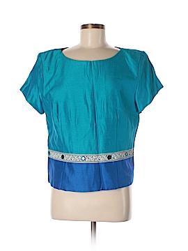 Jessica Howard Short Sleeve Blouse Size 16