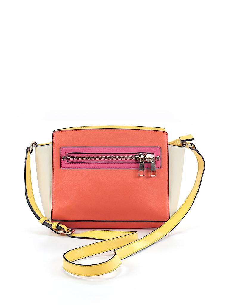 5b64ed355eb Aldo Color Block Orange Crossbody Bag One Size - 63% off